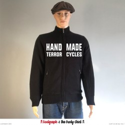 Hand Made Terrorcycles sweater 1940 koolgraph kustom kulture