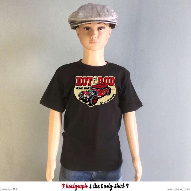 hot rod speed shop tshirt kustom kulture koolgraph