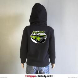 Muscle Car veste capuche zip kustom kulture koolgraph