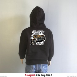 Motorcycles Old Racer sweat capuche kustom kulture koolgraph