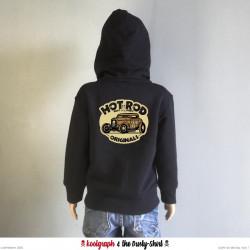 Hot Rod Originals veste capuche zip kustom kulture koolgraph