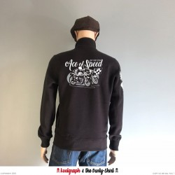 Ace of Speed Cafe Racergilet koolgraph kustom kulture