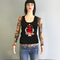 Lucky Devil Girl koolgraph kustom kulture