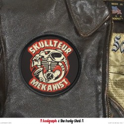 Patch skullteur